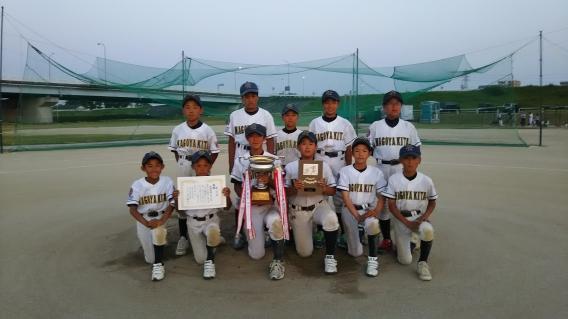 第25回ゼット杯リトルリーグ野球大会 優勝しました!!!